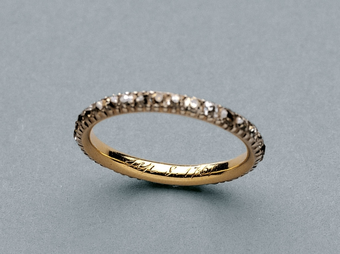 Queen Charlotte's keeper ring
