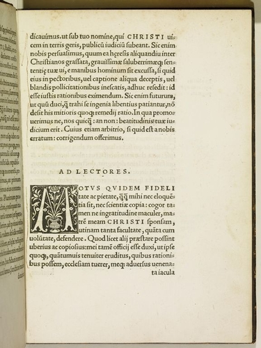 ASSERTIO SEPTEM SA=/ cramentorum adversus Martin. / Lutheru, ?dita ab inuictis=/ simo Angli? et Fran= / ci? rege, et do. Hy= /berni? Henri=/ co eius no/ minis/ o=/ ctavo