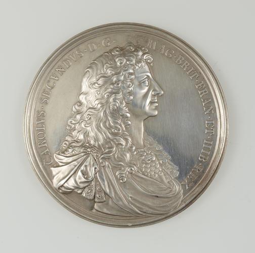Medal commemorating Charles II embarkation at Scheveningen