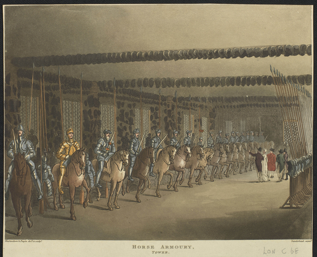 The Horse Armoury in the Tower