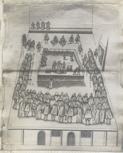 Master: [The Trial of Mary Queen Scots; and The Execution of Mary Queen of Scots] Item: [The Execution of Mary Queen of Scots]