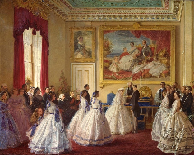 The Marriage of Princess Alice, 1st July 1862