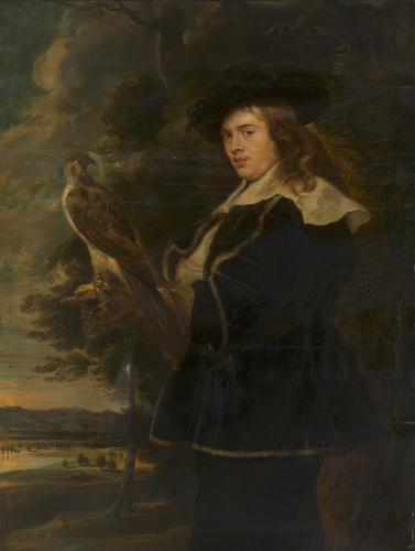 A Young Man with a Falcon