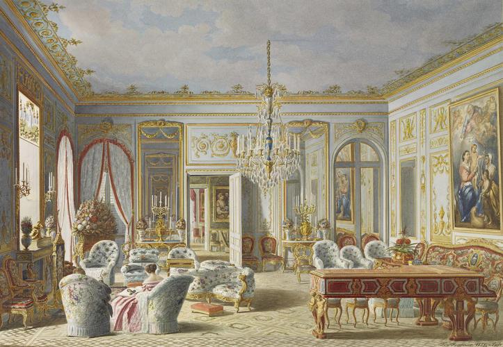 Queen Victoria's drawing room at Saint-Cloud