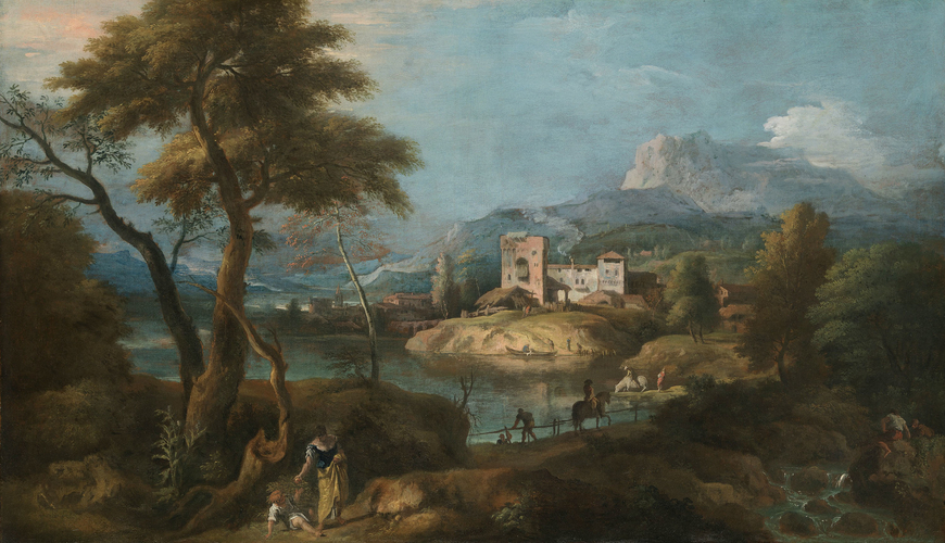 Landscape with a Woman and Child