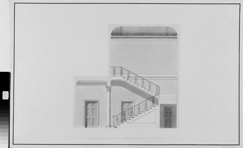 James Wyatt (1746-1813) - Frogmore House: design for the