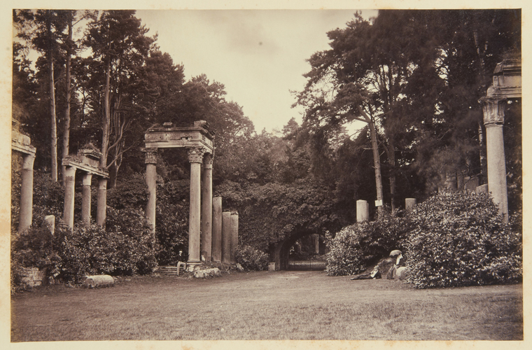 The Leptis Magna ruins, Virginia Water