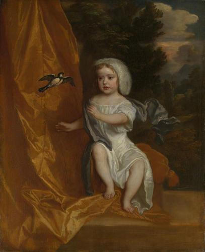 Queen Anne (1665-1714) when a Child