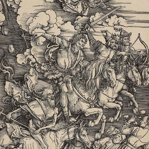 Albrecht Dürer (1471-1528) - The Apocalypse: The Four Horsemen