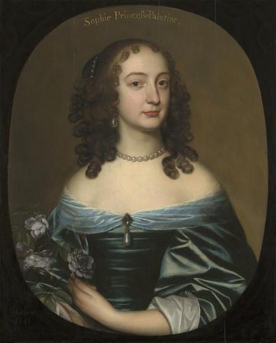 Princess Sophia, later Duchess of Brunswick-Luneburg, Electress of Hanover (1630-1714)