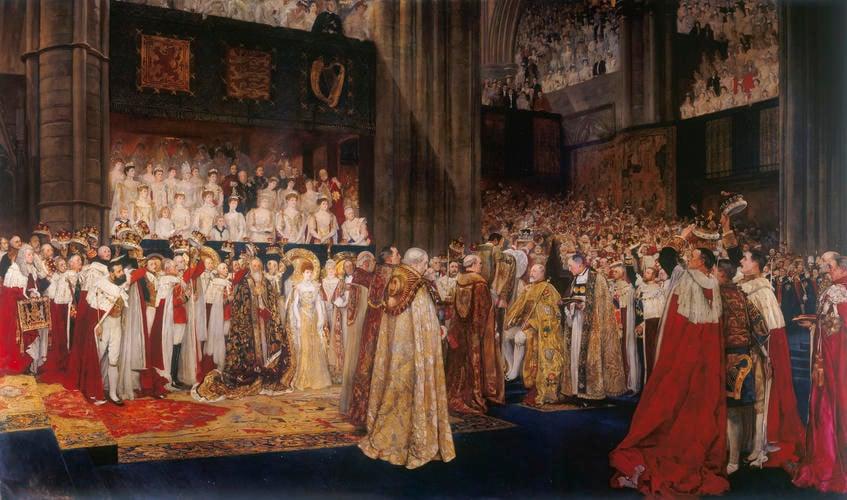 The Coronation of King Edward VII (1841-1910)