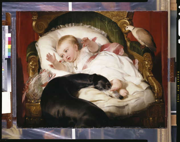 Victoria, Princess Royal, with Eos
