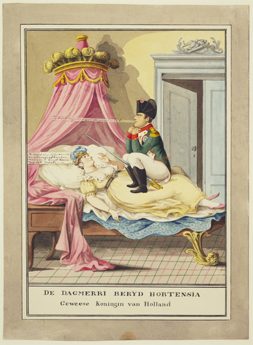 Queen Hortense of Holland haunted by Napoleon