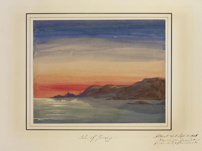 Master: Queen Victoria and Prince Albert's Album Vol. I. Item: Isle of Jersey