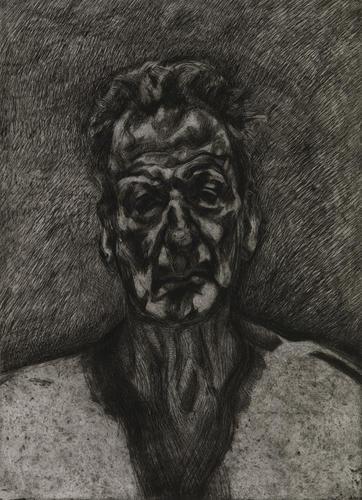 Self-portrait: Reflection