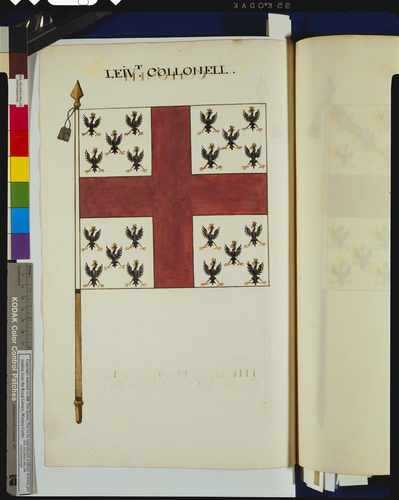 Drawings of the Colours and Standards of the British Army : Tempore James II &c. &c. &c