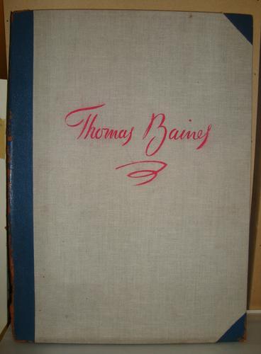 Master: Thomas Baines: his art in Rhodesia Item: Thomas Baines, his art in Rhodesia: portfolio