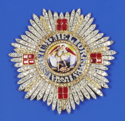 Order of St Michael & St George. Star. Belonged to Adolphus Frederick, Duke of Cambridge