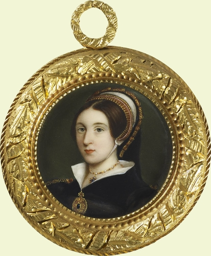 Portrait of a woman called Princess Mary, Duchess of Suffolk (1498-1533)