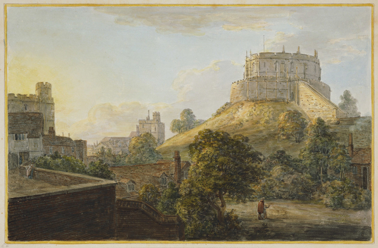 Paul Sandby (1731-1809) - View of the Round, Winchester and Store