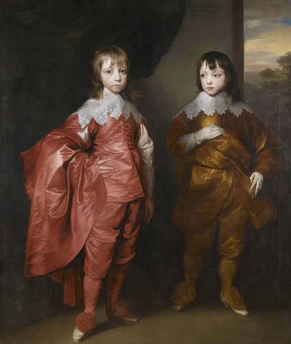 George Villiers, 2nd Duke of Buckingham (1628-87), and Lord Francis Villiers (1629-48)