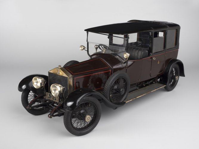 Silver Ghost seven-seater limousine-landaulet
