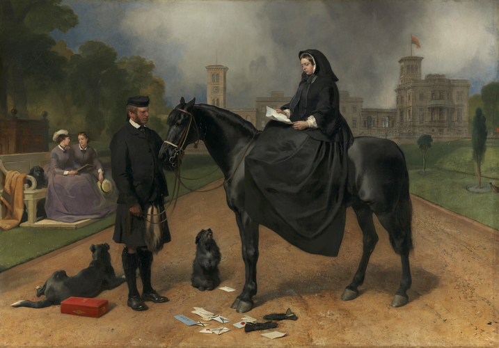 Queen Victoria at Osborne