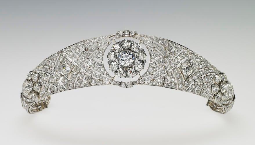 Queen Mary's bandeau tiara