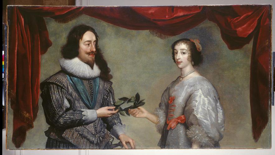 Charles I and Henrietta Maria