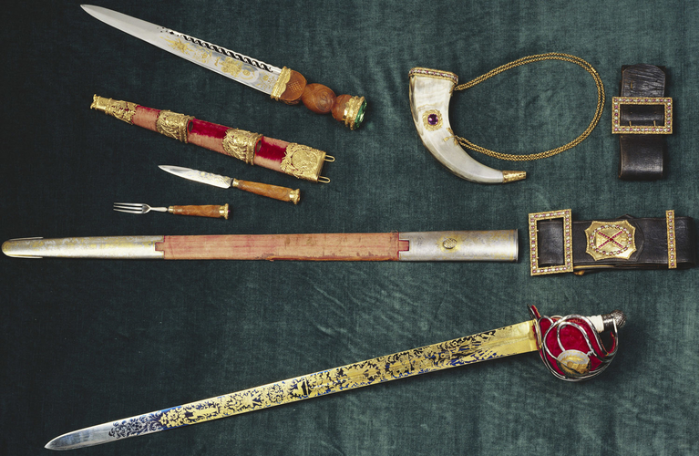Highland dress accoutrements of George IV