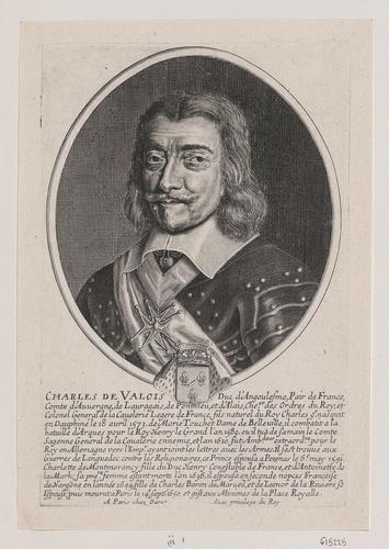 Charles de Valois (Duke of Angouleme, Natural Son of Charles IX, King of France)