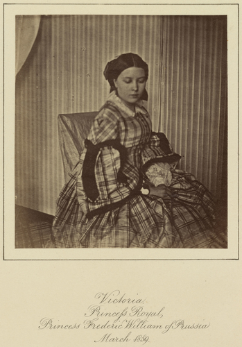 Victoria, Princess Frederick of Prussia, later Empress of Germany (1840-1901)