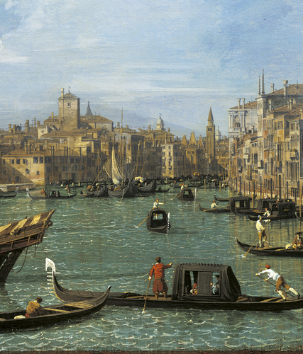 Venice: The Grand Canal from the Salute towards the Carita