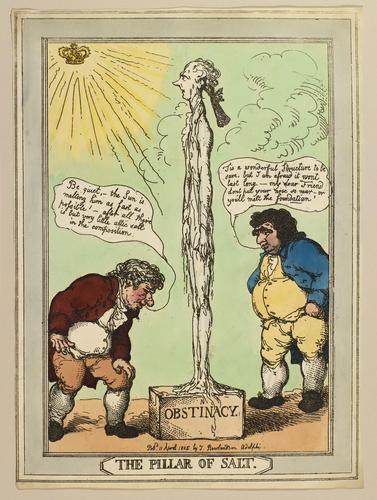 The Pillar of Salt