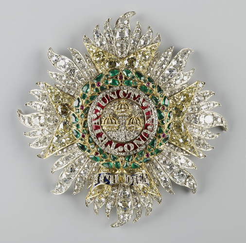 Order of the Bath, military. Queen Victoria's star