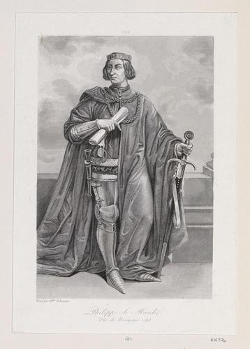 Philippe le Hardi (Philippe II, Duke of Burgundy, 4th Son of Jean II, King of France)