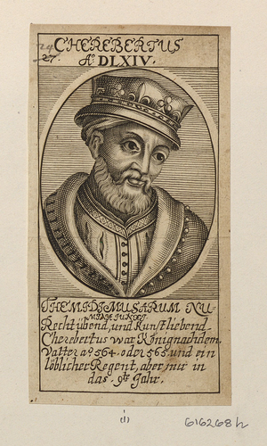 Engravings of the kings of France from the sixth to the