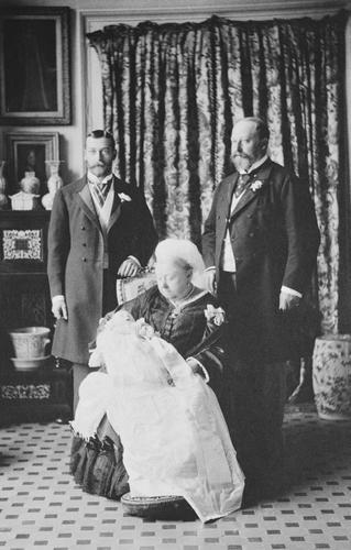 The christening of Prince Edward of York, White Lodge, Richmond Park, 1894