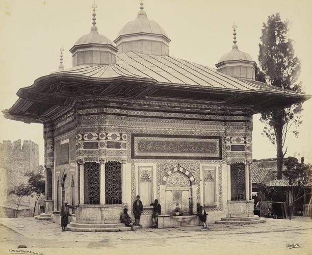 Fountain of Sultan Selim [Fountain of Ahmed III, Istanbul, Turkey]