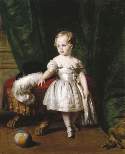Albert Edward, Prince of Wales (1840-1910) when a child