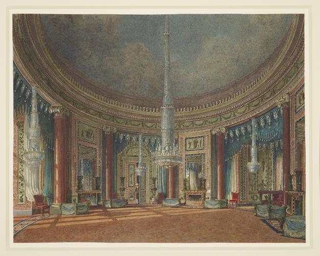 The Circular Room, Carlton House
