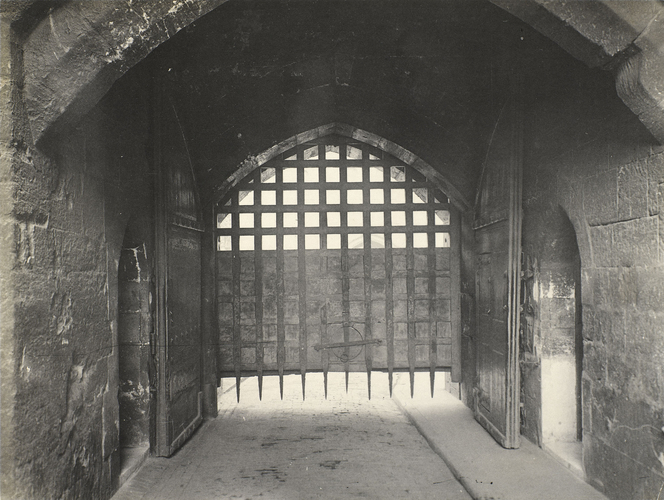 The Portcullis of the Byward Tower