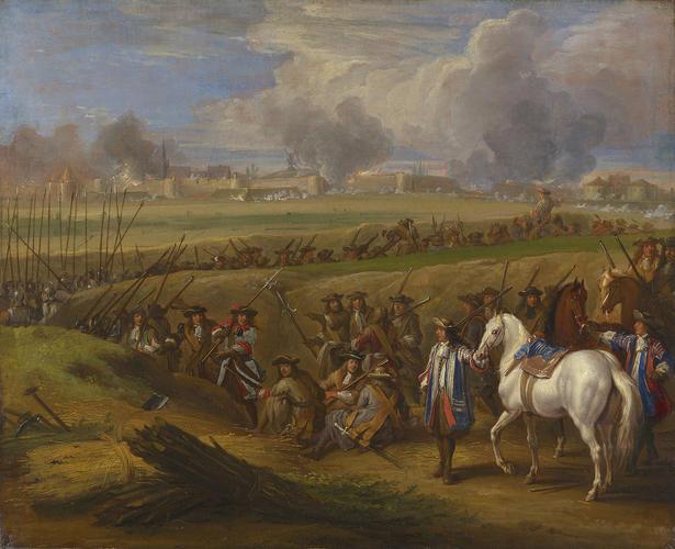 Louis XIV at the Siege of Tournai, June 1667