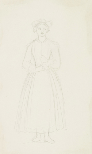 Master: THE QUEEN SOUVENIRS DE L'OPERA VOL. 3. Item: A Woman in Theatrical Costume