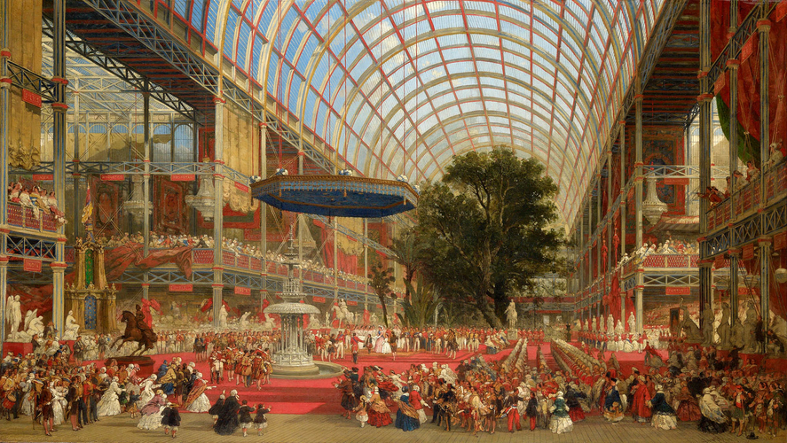 The Inauguration of the Great Exhibition: 1 May 1851