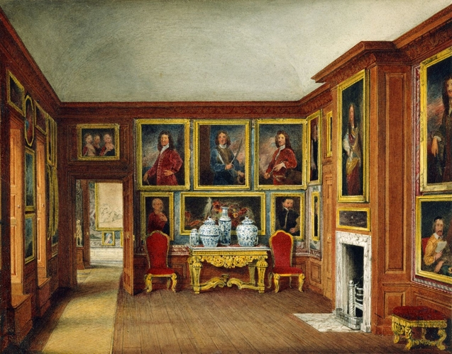 Kensington Palace Queen Mary S Drawing Room The Admirals Gallery 1817