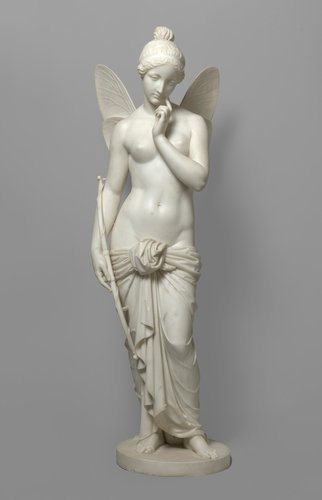Psyche lamenting the loss of Cupid