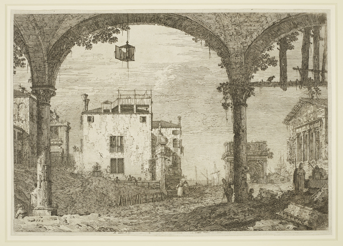 The Portico with the Lantern