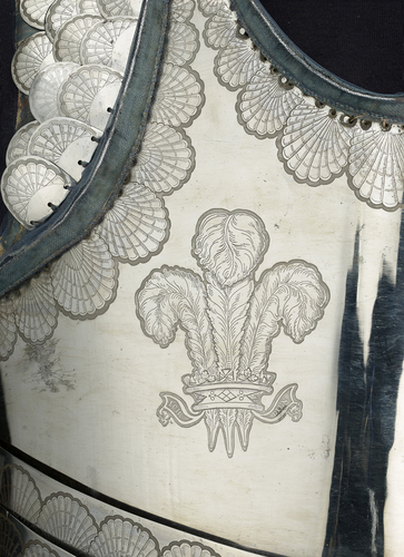Parade breastplate of George, Prince of Wales