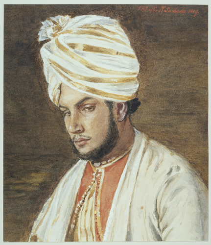 Master: SKETCHES BY QUEEN VICTORIA IIItem: Abdul Karim